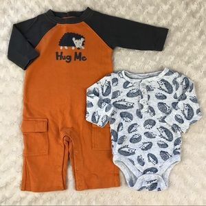 Baby Boy Hedgehog Bundle Gymboree Old Navy